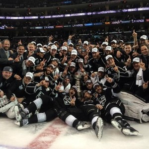 Segunda vez que os Kings conquistam a Stanley Cup