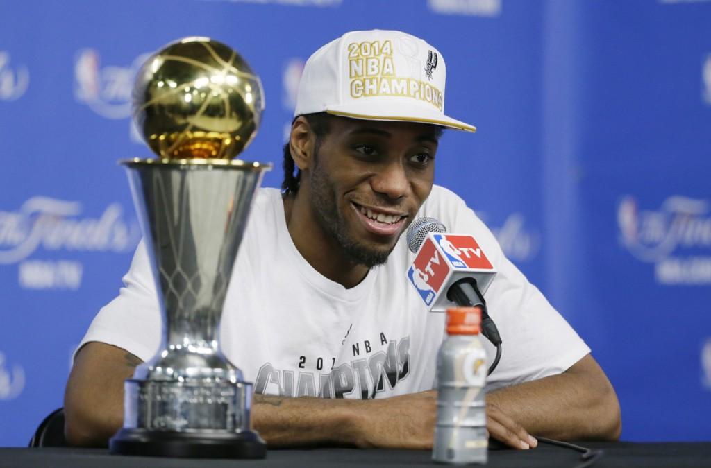 Kawhi Leonard foi o terceiro mais jovem MVP da história das Finais da NBA