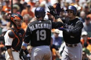Tulowitzki segue pegando fogo na MLB. Ele marcou seu 18º HR na temporada (Foto: AP)