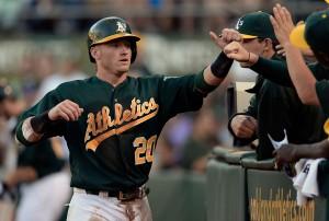 Josh Donaldson é o representante do Oakland Athletics no time titular da Liga Americana