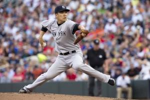 Masahiro Tanaka jogou 7 entradas e venceu mais uma na MLB