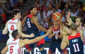 Turquia complicou para os Estados Unidos no começo da partida (Foto: FIBA/Divulgação)