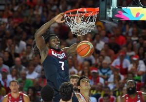 Kenneth Faried foi o cestinha da partida com 22 pontos (Foto: FIBA/Divulgação)