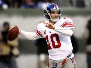 O New York Giants, de Eli Manning, estreia neste domingo na pré-temporada da NFL.