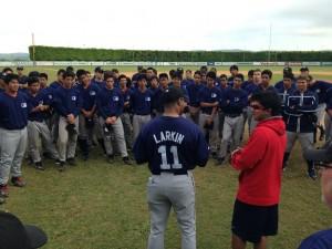 Edição 2013 do MLB Elite Camp no Brasil (Foto: Little League Brasil)