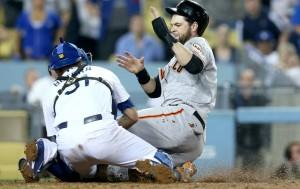 Gregor Blanco brilhou na vitória dos Giants sobre os Dodgers