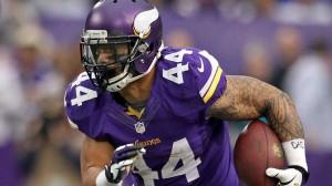 Matt Asiata foi escolhido como titular dos Vikings na vaga de Peterson (Foto: Brace Hemmelgarn / USA TODAY Sports)