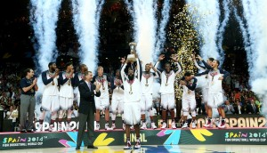 EUA foram campeões do Mundial de Basquete pela 8ª vez. (Foto: Divulgação FIBA)