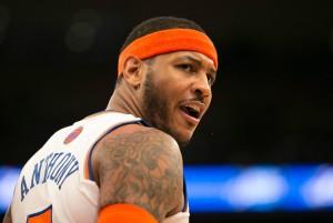 Carmelo Anthony acha que imagem dos Hawks está manchada (Foto:  Anthony J. Causi)