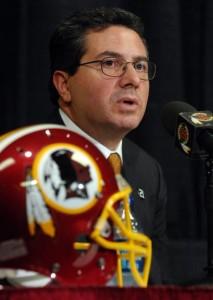 Proprietário dos Redskins, Dan Snyder declarou apoio à Roger Goodell