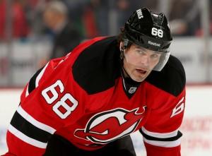 Jaromir Jagr vai para sua 21ª temporada na NHL (Foto: Rich Chere/The Star-Ledger)