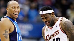 Antes adversários, Shawn Marion e LeBron James jogarão juntos pelo Cleveland Cavaliers