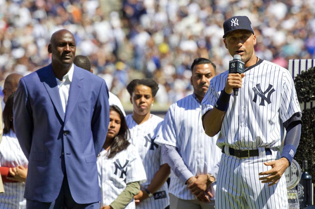 """Irmão Mais Velho é Mais Que ídolo é Um Amigo Para Toda Vida: Michael Jordan Sobre Derek Jeter: """"Ele é Meu ídolo"""""""