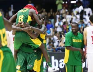 Senegal encaminhou bem uma vaga na próxima fase do Mundial de Basquete (Foto: Divulgação FIBA)