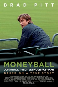 Moneyball retrata os bastidores da MLB (Foto: Poster/Divulgação)
