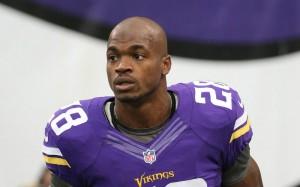 Peterson quer voltar a jogar já no domingo contra os Bears (Foto: NFL)