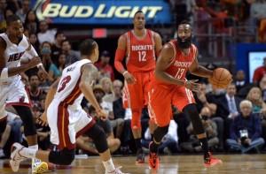 Houston Rockets, de James Harden, segue invicto na Liga (Foto: NBA)