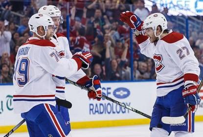 Canadiens vencem Lightning por 4 a 3 em Tampa Bay - The Playoffs