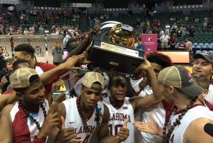 Oklahoma vence Harvard e segue invicta na temporada do College Basketball - The Playoffs