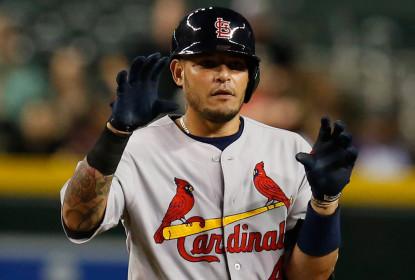 Yadier Molina passou por segunda cirurgia em polegar esquerdo nesse ano - The Playoffs