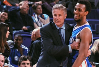 Brett Brown reclama sobre as mudanças no elenco dos 76ers - The Playoffs
