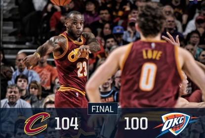 Cavaliers vencem batalha e superam Thunder - The Playoffs