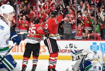 Chicago Blackhawks atropela Vancouver Canucks - The Playoffs