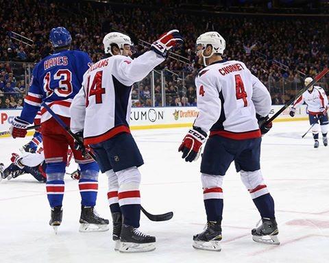 Capitals destroem Rangers em New York - The Playoffs