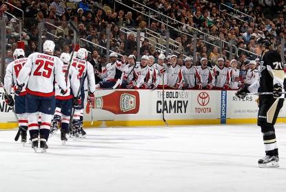 Capitals estragam estreia de treinador e goleiam Penguins - The Playoffs