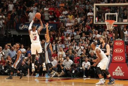 Miami Heat sofre mas vence Memphis Grizzlies em casa - The Playoffs