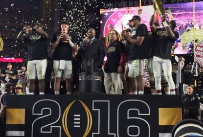 Alabama vence Clemson e é campeã do College Football - The Playoffs