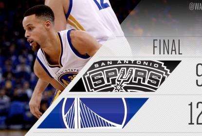 Curry brilha e Golden State Warriors detona San Antonio Spurs - The Playoffs