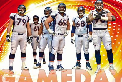 Broncos escolhem usar uniforme branco no Super Bowl - The Playoffs