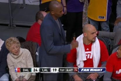 "Kobe Bryant ""ordena"" Larry Lance Jr a se retirar do banco de reservas - The Playoffs"