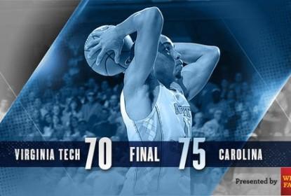 Brice Johnson vai bem e North Carolina vence mais uma no basquete universitário - The Playoffs