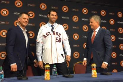 Houston Astros anuncia Doug Fister para 2016 por US$ 7 milhões - The Playoffs
