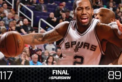 Spurs superam Suns e vencem 12ª seguida - The Playoffs