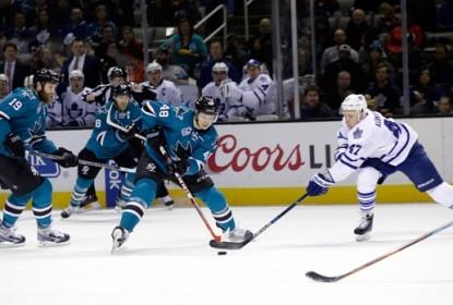 Sem dó nem piedade, Sharks arrasam Maple Leafs por 7 a 0 - The Playoffs