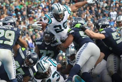 Panthers têm início arrasador, brecam reação dos Seahawks e estão na final da NFC - The Playoffs