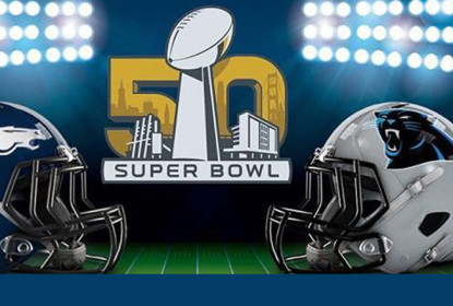 Que tal ter o capacete dos finalistas do Super Bowl 50? - The Playoffs