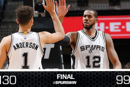 Após apanhar dos Warriors, Spurs detonam Rockets - The Playoffs