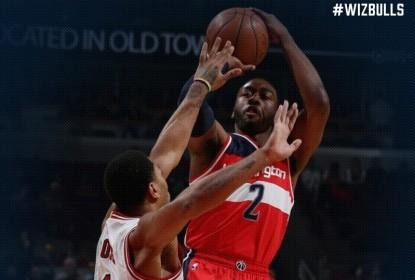Washington Wizards vence Chicago Bulls fora de casa por 114 a 100 - The Playoffs