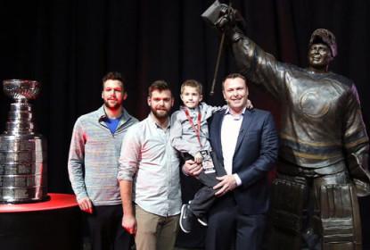 Devils fazem estátua e aposentam camisa de Martin Brodeur - The Playoffs