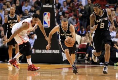 Spurs iniciam Rodeo Trip com vitória tranquila sobre o Heat na Flórida - The Playoffs