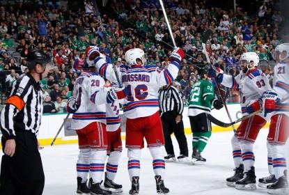 Rangers vencem Stars em Dallas - The Playoffs