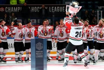 Frölunda é campeão da CHL - The Playoffs