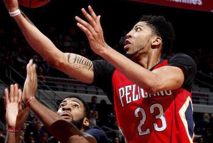 Com atuação monstruosa, Anthony Davis leva Pelicans à vitória sobre os Pistons - The Playoffs