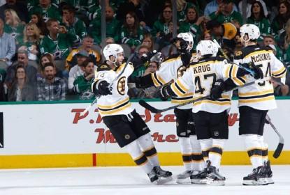 Boston Bruins atropela Dallas Stars fora de casa - The Playoffs