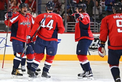 Ovechkin marca 40º gol na temporada e Capitals vencem Wild - The Playoffs