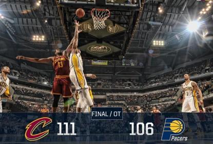 No overtime, Cavaliers batem Pacers e vencem quinta seguida - The Playoffs